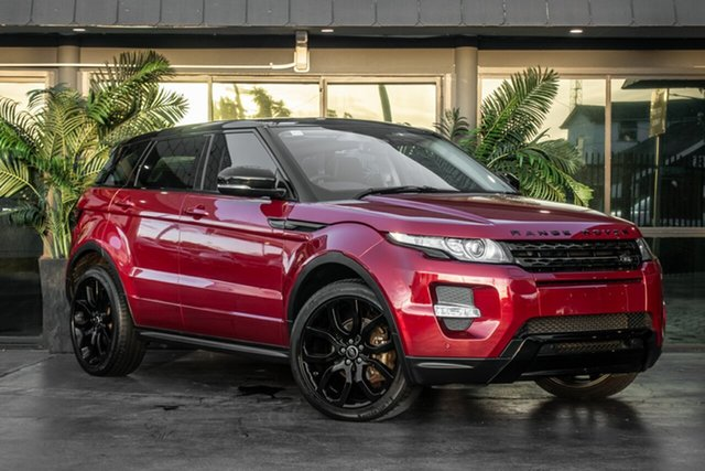 Used Land Rover Range Rover Evoque L538 MY13 Si4 CommandShift Dynamic, 2013 Land Rover Range Rover Evoque L538 MY13 Si4 CommandShift Dynamic Red 6 Speed Sports Automatic