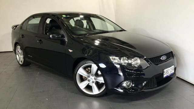Used Ford Falcon FG XR6 Turbo, 2010 Ford Falcon FG XR6 Turbo Black 6 Speed Sports Automatic Sedan