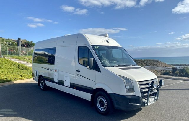 Used Volkswagen Crafter 2EF2 50 High Roof LWB, 2008 2EF2 50 High Roof LWB Volkswagen Crafter White Van RWD