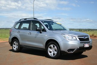 2013 Subaru Forester MY13 2.5I Ice Silver Continuous Variable Wagon.
