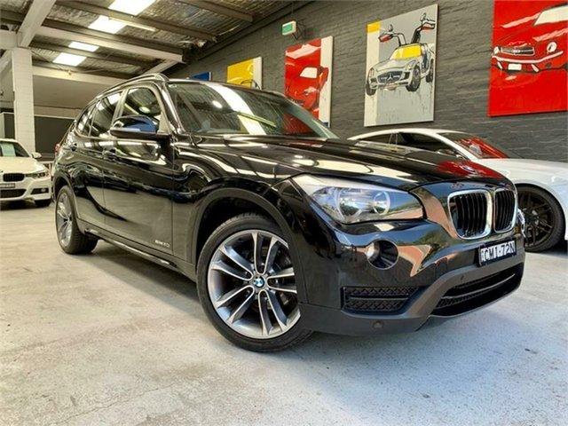 Used BMW X1 E84 LCI sDrive20i, 2012 BMW X1 E84 LCI sDrive20i Black Sports Automatic Wagon
