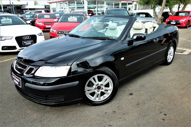 Used Saab 9-3 442 MY2004 Linear, 2004 Saab 9-3 442 MY2004 Linear Black 5 Speed Sports Automatic Convertible