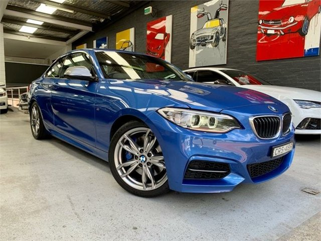 Used BMW 2 Series F22 M235I, 2014 BMW 2 Series F22 M235I Estoril Blue Sports Automatic Coupe