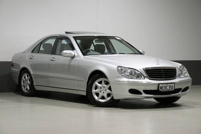 Used Mercedes-Benz S350 W220 , 2004 Mercedes-Benz S350 W220 Silver 5 Speed Auto Touchshift Sedan