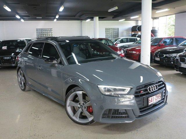 Used Audi S3 8V MY20 Sportback S Tronic Quattro, 2019 Audi S3 8V MY20 Sportback S Tronic Quattro Nardo Grey 7 Speed Sports Automatic Dual Clutch