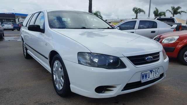 Used Ford Falcon BF Mk II XT, 2007 Ford Falcon BF Mk II XT White 4 Speed Sports Automatic Wagon
