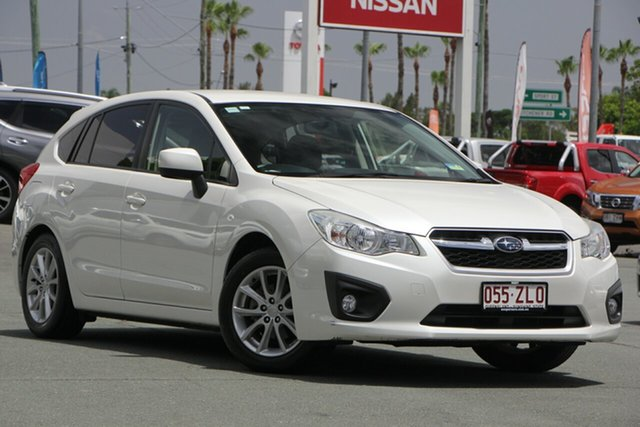 Used Subaru Impreza G4 MY12 2.0i-L Lineartronic AWD, 2012 Subaru Impreza G4 MY12 2.0i-L Lineartronic AWD White 6 Speed Constant Variable Hatchback