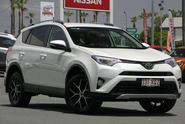 Used Toyota RAV4 ZSA42R GXL 2WD, 2017 Toyota RAV4 ZSA42R GXL 2WD White 7 Speed Constant Variable Wagon