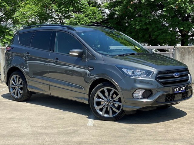 Demo Ford Escape ZG 2019.75MY ST-Line AWD, 2019 Ford Escape ZG 2019.75MY ST-Line AWD Magnetic 6 Speed Sports Automatic Wagon