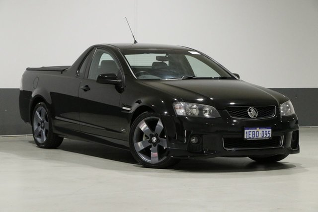 Used Holden Commodore VE II MY12 SV6, 2012 Holden Commodore VE II MY12 SV6 Black 6 Speed Automatic Utility