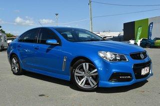 2014 Holden Commodore VF MY15 SS Blue 6 Speed Automatic Sedan.
