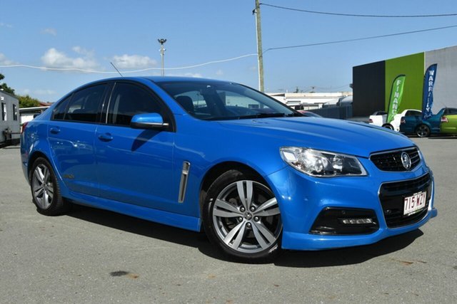 Used Holden Commodore VF MY15 SS, 2014 Holden Commodore VF MY15 SS Blue 6 Speed Automatic Sedan
