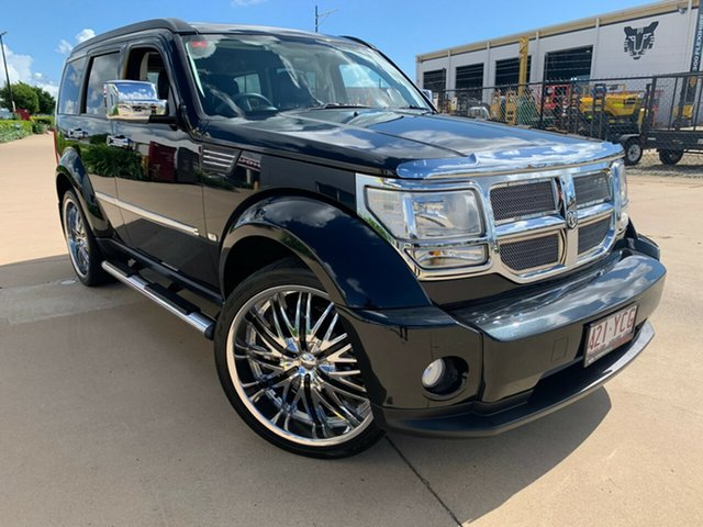 Used Dodge Nitro KA MY11 SX, 2011 Dodge Nitro KA MY11 SX Black 4 Speed Automatic Wagon