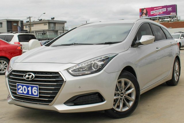 Used Hyundai i40 VF4 Series II Active Tourer D-CT, 2016 Hyundai i40 VF4 Series II Active Tourer D-CT Silver 7 Speed Sports Automatic Dual Clutch Wagon