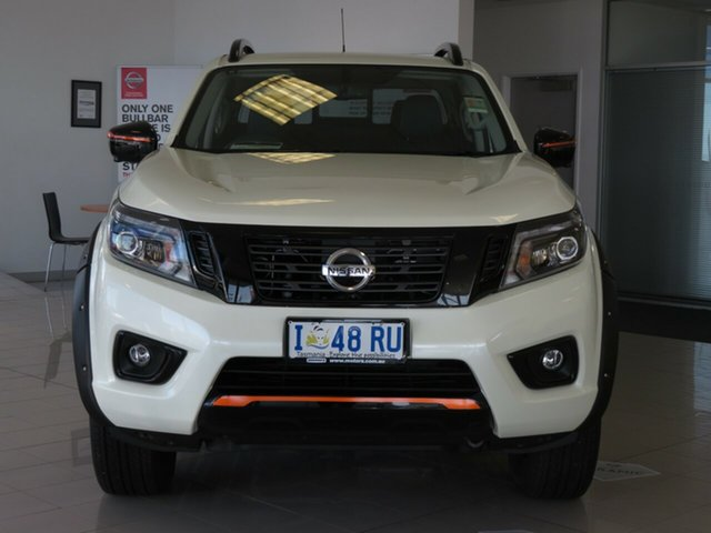 Demo Nissan Navara D23 S4 MY20 N-TREK, 2019 Nissan Navara D23 S4 MY20 N-TREK White Diamond 7 Speed Sports Automatic Utility