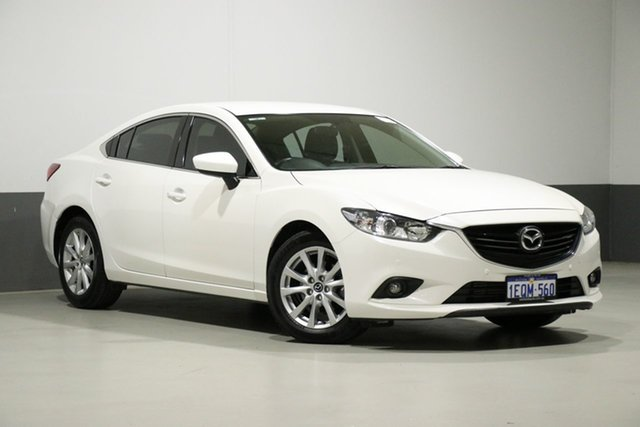 Used Mazda 6 6C Touring, 2014 Mazda 6 6C Touring White 6 Speed Automatic Sedan