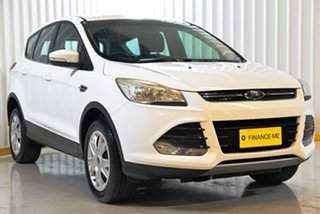 2014 Ford Kuga TF Ambiente AWD White 6 Speed Sports Automatic Wagon