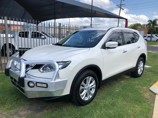Used Nissan X-Trail T32 ST (FWD), 2016 Nissan X-Trail T32 ST (FWD) White Continuous Variable Wagon