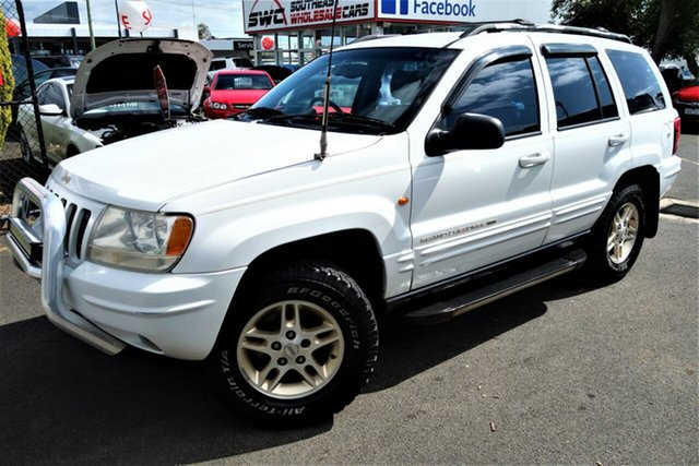 Used Jeep Grand Cherokee WJ Limited, 2000 Jeep Grand Cherokee WJ Limited White 5 Speed Automatic Wagon
