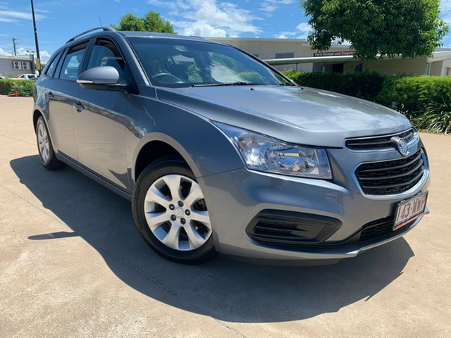 Used Holden Cruze JH Series II MY16 CD Sportwagon, 2016 Holden Cruze JH Series II MY16 CD Sportwagon Grey 6 Speed Sports Automatic Wagon