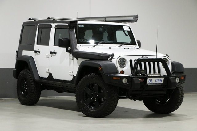 Used Jeep Wrangler Unlimited JK MY13 Sport (4x4), 2013 Jeep Wrangler Unlimited JK MY13 Sport (4x4) White 5 Speed Automatic Softtop