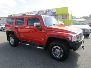 2008 Hummer H3 Orange 4 Speed Automatic Wagon.