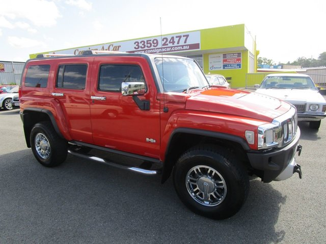 Used Hummer H3  , 2008 Hummer H3 Orange 4 Speed Automatic Wagon