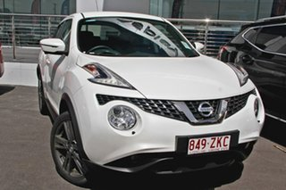 2018 Nissan Juke F15 MY18 Ti-S X-tronic AWD Ivory Pearl 1 Speed Constant Variable Hatchback.