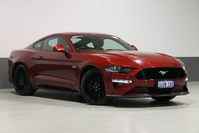 Used Ford Mustang FN Fastback GT 5.0 V8, 2018 Ford Mustang FN Fastback GT 5.0 V8 Ruby Red 10 Speed Automatic Coupe