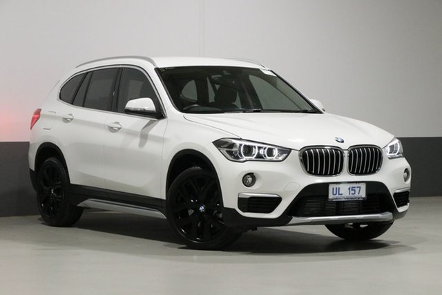 Used BMW X1 F48 MY19 xDrive 25I, 2018 BMW X1 F48 MY19 xDrive 25I White 8 Speed Automatic Wagon