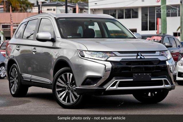 Demo Mitsubishi Outlander ZL MY19 ES 2WD, 2019 Mitsubishi Outlander ZL MY19 ES 2WD Sterling Silver 6 Speed Constant Variable Wagon