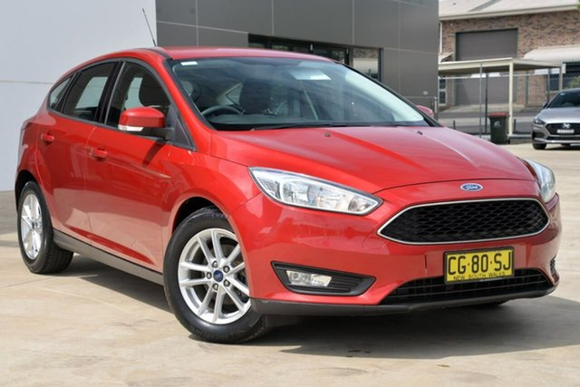 Used Ford Focus LZ Trend, 2015 Ford Focus LZ Trend Red 6 Speed Automatic Hatchback