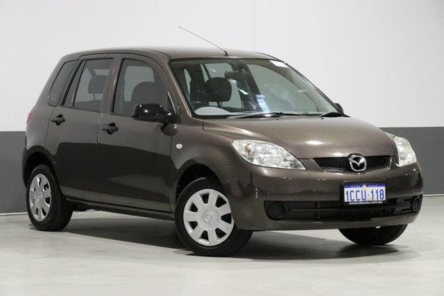 Used Mazda 2 DY Neo, 2005 Mazda 2 DY Neo Brown 5 Speed Manual Hatchback