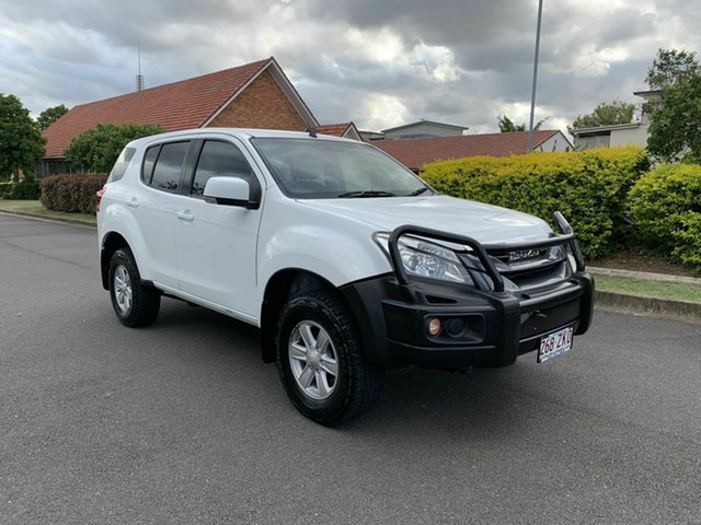 Used Isuzu MU-X MY15 , 2015 Isuzu MU-X MY15 LSM White 5 Speed Automatic Wagon