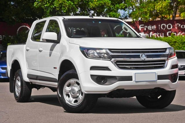 Used Holden Colorado RG MY19 LS Crew Cab 4x2, 2019 Holden Colorado RG MY19 LS Crew Cab 4x2 White 6 Speed Sports Automatic Cab Chassis