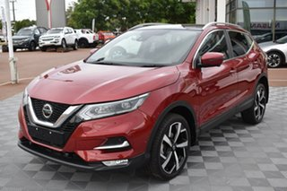 2019 Nissan Qashqai J11 Series 2 Ti X-tronic Red 1 Speed Constant Variable Wagon