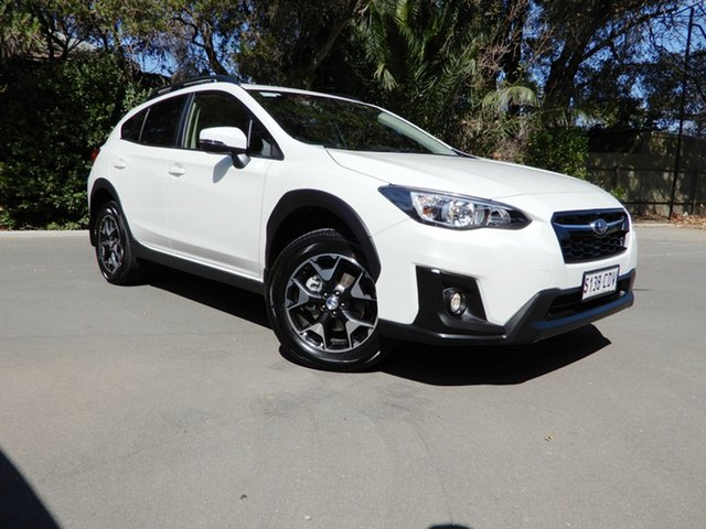 Used Subaru XV G5X MY19 2.0i Premium Lineartronic AWD, 2019 Subaru XV G5X MY19 2.0i Premium Lineartronic AWD Crystal White 7 Speed Constant Variable Wagon