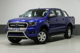 2016 Ford Ranger PX MkII XLS 3.2 (4x4) Blue 6 Speed Automatic Dual Cab Utility.