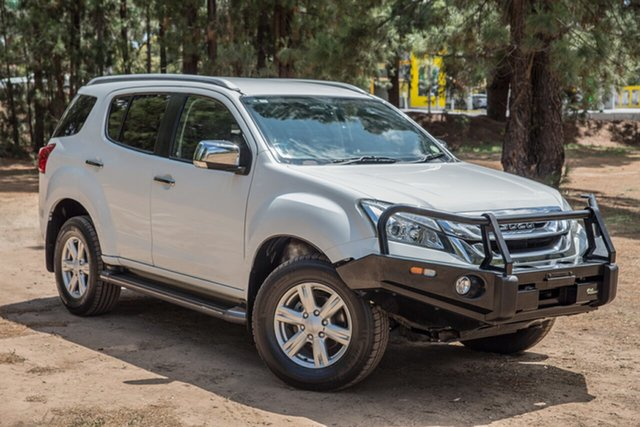 Used Isuzu MU-X MY16.5 LS-T Rev-Tronic, 2016 Isuzu MU-X MY16.5 LS-T Rev-Tronic White 6 Speed Sports Automatic Wagon
