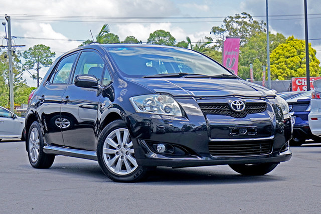 Used Toyota Corolla ZRE152R Levin ZR, 2008 Toyota Corolla ZRE152R Levin ZR Black Sand Pearl 4 Speed Automatic Hatchback