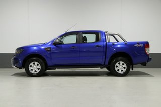 2016 Ford Ranger PX MkII XLS 3.2 (4x4) Blue 6 Speed Automatic Dual Cab Utility