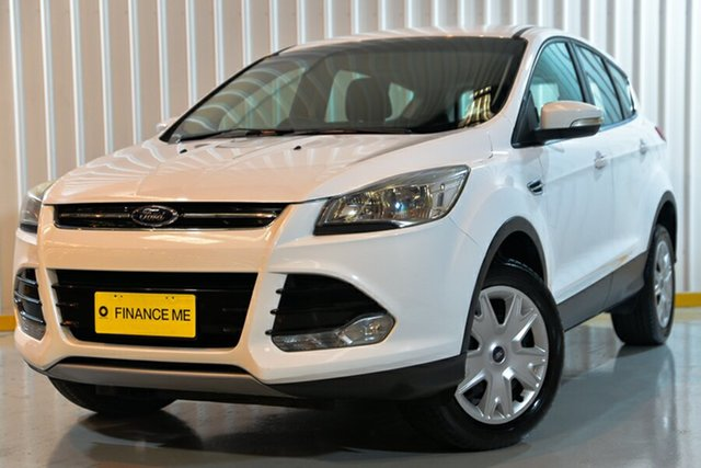 Used Ford Kuga TF Ambiente AWD, 2014 Ford Kuga TF Ambiente AWD White 6 Speed Sports Automatic Wagon
