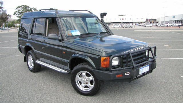 Used Land Rover Discovery II 01MY Td5, 2001 Land Rover Discovery II 01MY Td5 Green 4 Speed Automatic Wagon