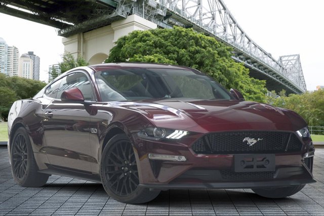 Used Ford Mustang FN 2018MY GT Fastback SelectShift, 2018 Ford Mustang FN 2018MY GT Fastback SelectShift Maroon 10 Speed Sports Automatic Fastback