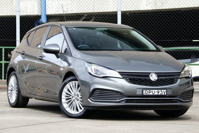 Used Holden Astra BK MY17.5 R, 2017 Holden Astra BK MY17.5 R Grey 6 Speed Automatic Hatchback