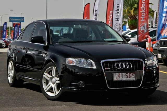 Used Audi A4 B7 Tiptronic Quattro, 2005 Audi A4 B7 Tiptronic Quattro Black 6 Speed Sports Automatic Sedan