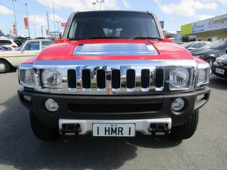 2008 Hummer H3 Orange 4 Speed Automatic Wagon