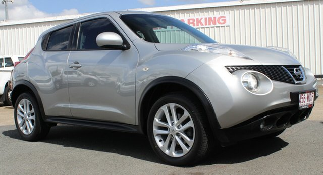 Used Nissan Juke F15 MY14 ST 2WD, 2013 Nissan Juke F15 MY14 ST 2WD Silver 1 Speed Constant Variable Hatchback