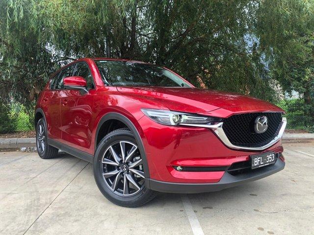 Demo Mazda CX-5 MY19 (KF Series 2) GT (4x4), 2020 Mazda CX-5 MY19 (KF Series 2) GT (4x4) Soul Red Crystal 6 Speed Automatic Wagon