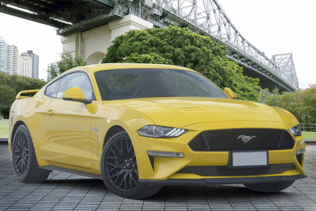 Used Ford Mustang FN 2018MY GT Fastback SelectShift, 2018 Ford Mustang FN 2018MY GT Fastback SelectShift Yellow 10 Speed Sports Automatic Fastback